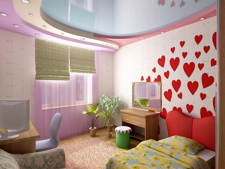 Дизайна детской комнаты для девочки