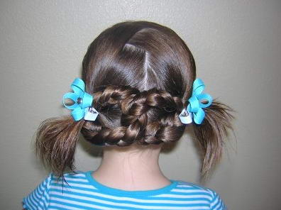 Причёски в садик и в школу