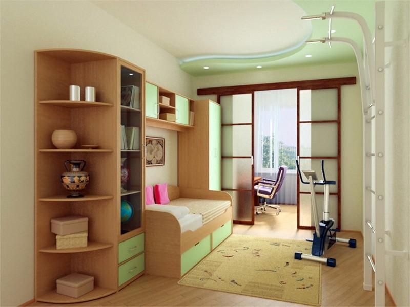 Дизайн детской комнаты для детей
