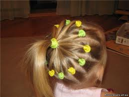 Причёски для девочек