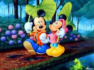 Детские раскраски Микки Маус