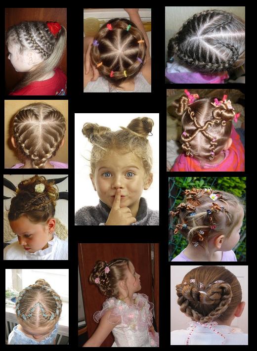 Причёсок для девочек причёски для