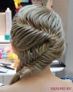 Плетение кос разных